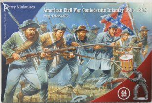 Perry Miniatures 28mm ACW-80 ACW Confederate Infantry 1861-65